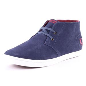 BOTTE Fred Perry Byron Mid Hommes Bottes chukka Carbon B
