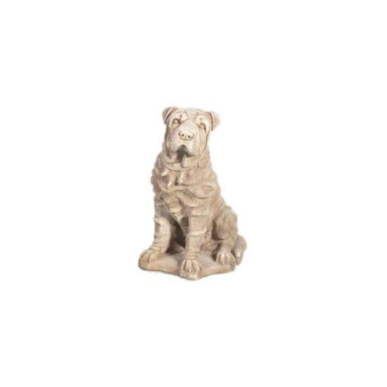 8b4614f1b61a3 Statue chien en pierre reconstituée • Statue & statuette • Objet déco jardin  - Achat / Vente statue - statuette Statue chien en pierre - Cdiscount