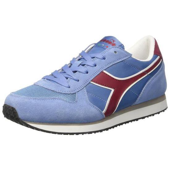 Exécutez K-Men Ii Sneaker bas du cou, bleu foncé - rouge ferrari 3DVLTI Taille-39 Bleu Bleu - Achat / Vente basket