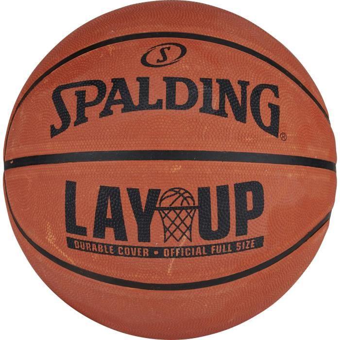SPALDING Ballon de Basketball LAY UP - Marron