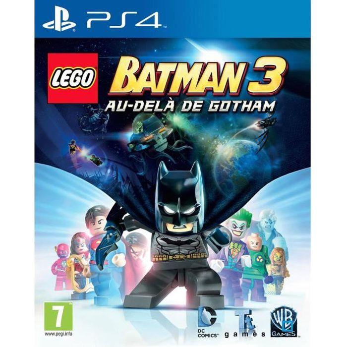 LEGO Batman 3 Au delà de Gotham - Jeu PS4