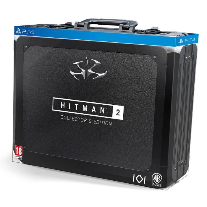 JEU PS4 Hitman 2 Édition Collector Jeu PS4