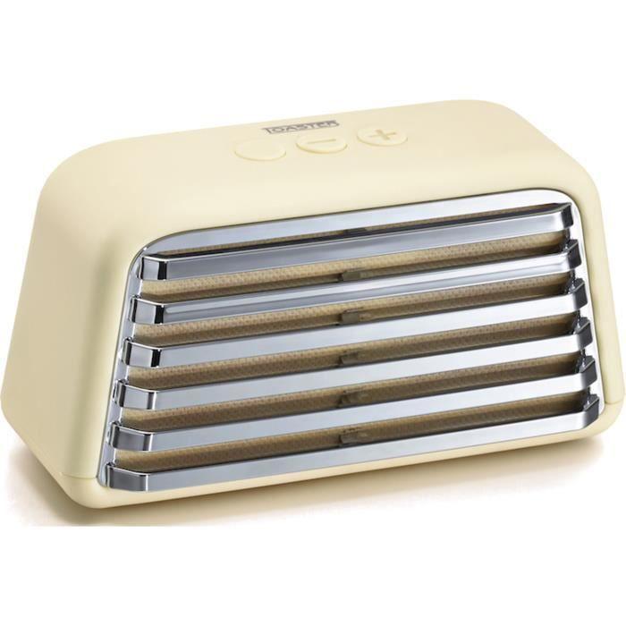 2 haut-parleurs - Diamètre des haut-parleurs : 50mm - Temps de charge : 3h - Autonomie : 8hENCEINTE NOMADE - HAUT-PARLEUR NOMADE - ENCEINTE PORTABLE - ENCEINTE MOBILE - ENCEINTE BLUETOOTH - HAUT-PARLEUR BLUETOOTH