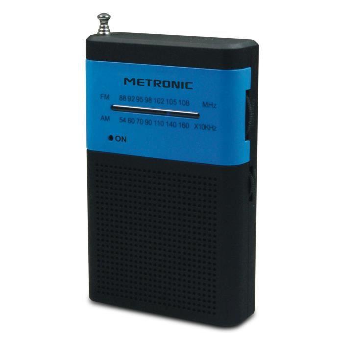 MET 477213 Radio FM de poche