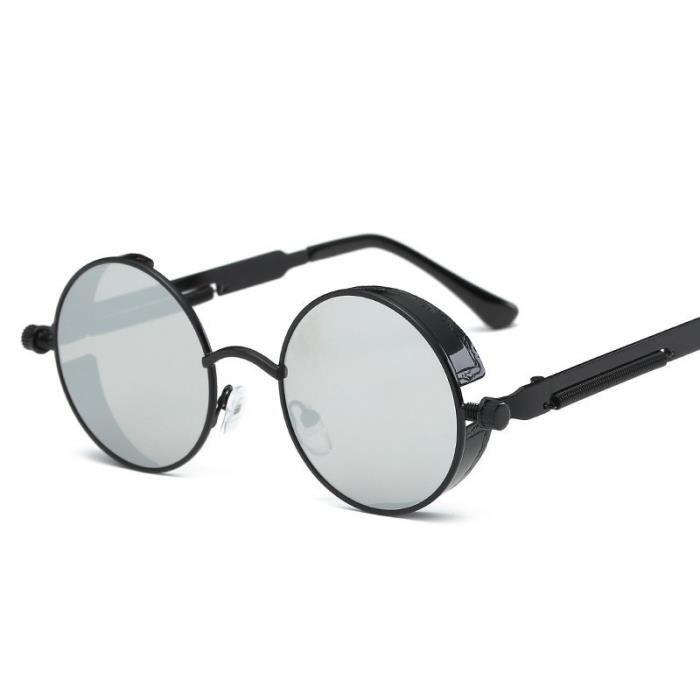 Nouveau printemps lentilles lunettes de soleil en métal lunettes de soleil colorées tendance lunettes de soleil