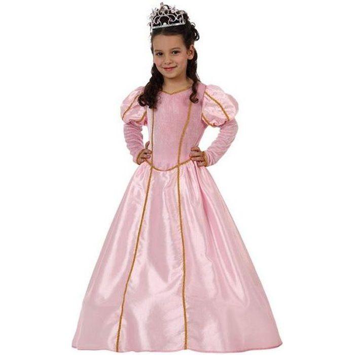 d guisement princesse enfant rose 3 4 ans achat vente d guisement panoplie cdiscount. Black Bedroom Furniture Sets. Home Design Ideas