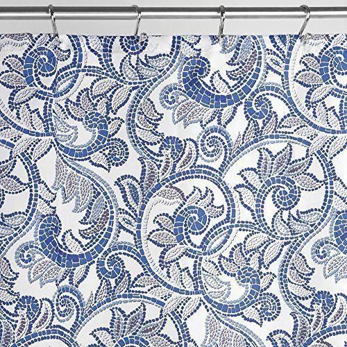 Interdesign 61321eu Rideau De Douche Avec Mosaique De Vigne