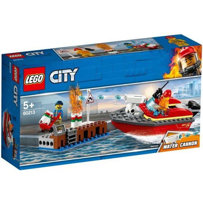 60213 City Sur Quai Le L'incendie Lego® UzGpLSVqM