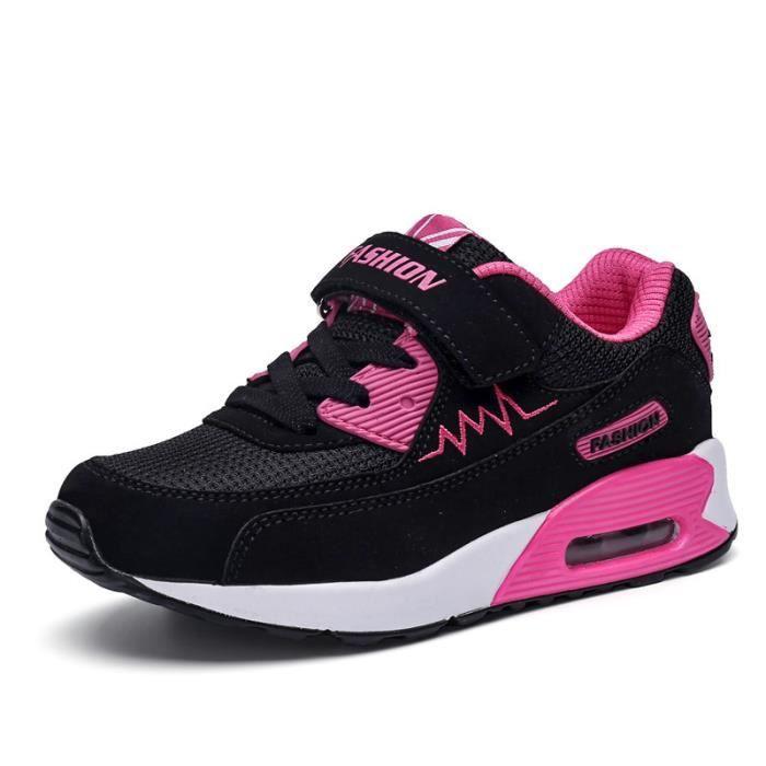 Basket Chaussures de sport décontracté pour enfants unisexe Chaussures de coussin d'air
