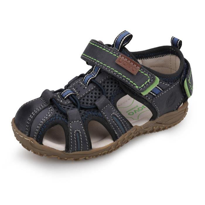 c40423e8dbd6e Stars® Sandales Enfant pour Garçon Fille Été Chaussures de Sport Bout Fermé  Antidérapant Sandales de Randonnée Plage Sandales -