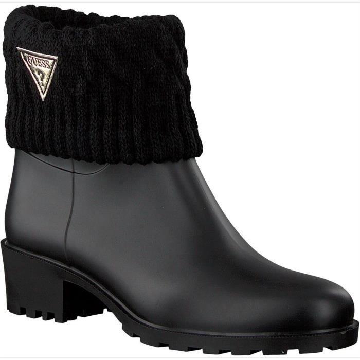 Noir Achat Flvnt3 Guess Venat Rub09 Femme Boots Bottines xwPROAUqYU