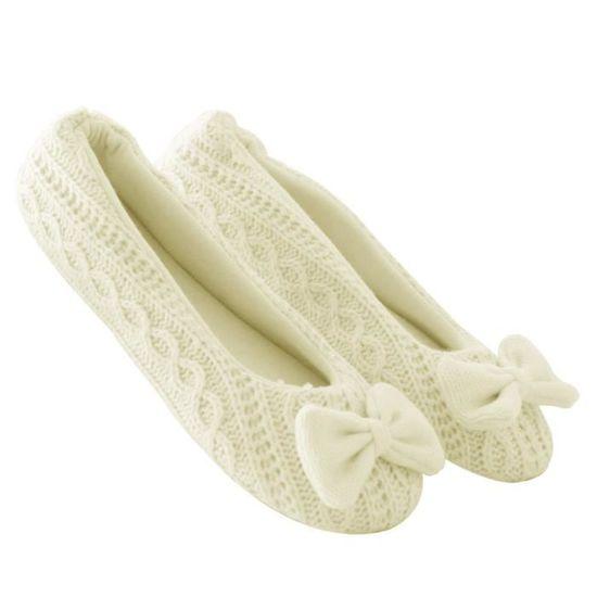 3947 Pantoufles Cachemire Femme Femmes Chaussures Chaud Bowknot Yoga QsdtrCh
