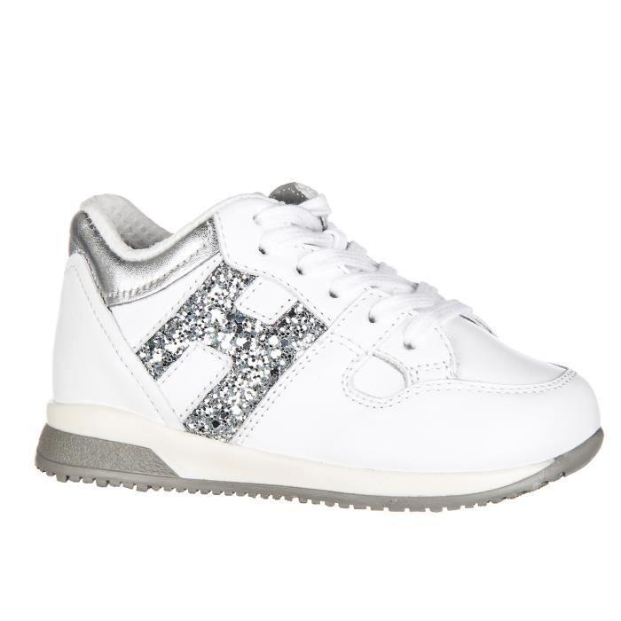 Chaussures baskets sneakers enfant fillescuir elective h grande zip Hogan