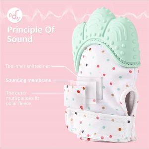 67b90e762349 ... ANNEAU DE DENTITION (5 Paire) Gants molaires en silicone pour les bebe.  ‹›