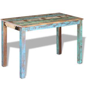 TABLE À MANGER SEULE P60 vidaXL Table de salle a manger Bois de recuper