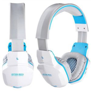 CASQUE AVEC MICROPHONE Rn Bluetooth V4.1 sans fil-filaire Over-Ear Gaming