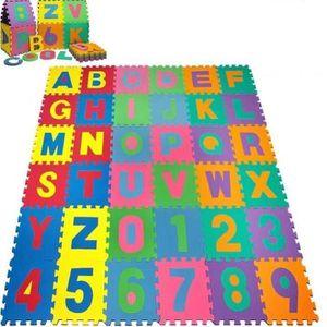 PUZZLE Puzzle tapis mousse 36 pcs 32x32 cm Jeu éducatif E