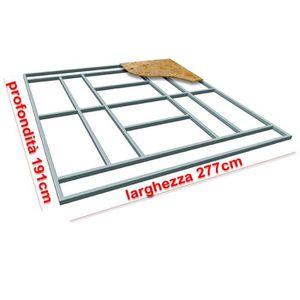 ABRI JARDIN - CHALET Support plancher base box abri de jardin L-PLUS 27