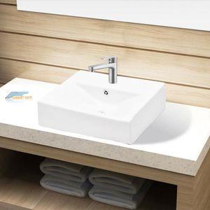 Evier salle de bain achat vente evier salle de bain - Vasque ceramique salle de bain ...