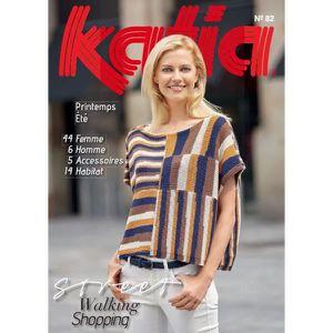 LIVRE LOISIRS CRÉATIFS Catalogue Katia FEMME N°82 été 2015 4fbf78a7ad5