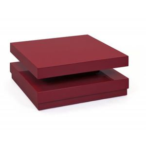 TABLE BASSE Table Basse   Rouge
