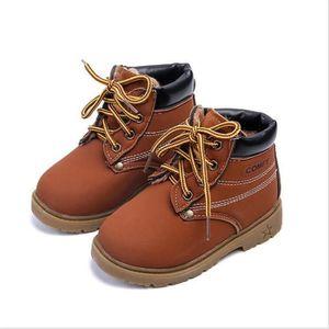BOTTE Hiver Enfant plus velours Classique Martin Boots Q