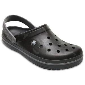 SABOT Crocs Women's Crocband Camo Ii Clog In Grey RUGSX