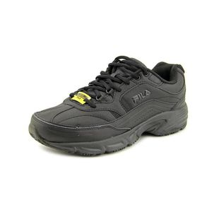 DERBY FILA Men's Memory Workshift Round Toe Leather Work