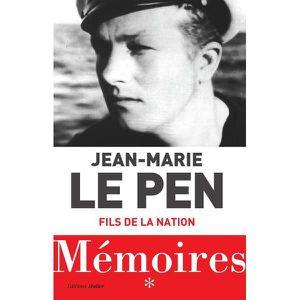 LITTÉRATURE FRANCAISE Livre - mémoires t.1 ;  fils de la nation
