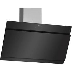 HOTTE Neff - hotte décorative inclinée 90cm 680m3-h noir