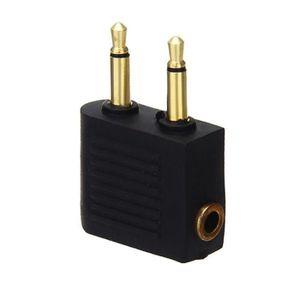 ADAPTATEUR AUDIO-VIDÉO  Adaptateur Convertisseur Audio Stereo Jack 3.5mm p