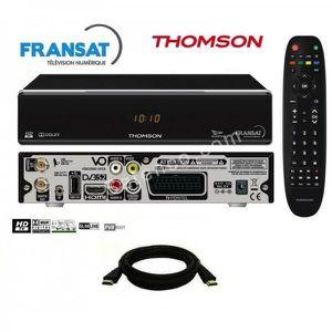 RÉCEPTEUR - DÉCODEUR    Pack récepteur Thomson THS805 HD + Carte Fransat