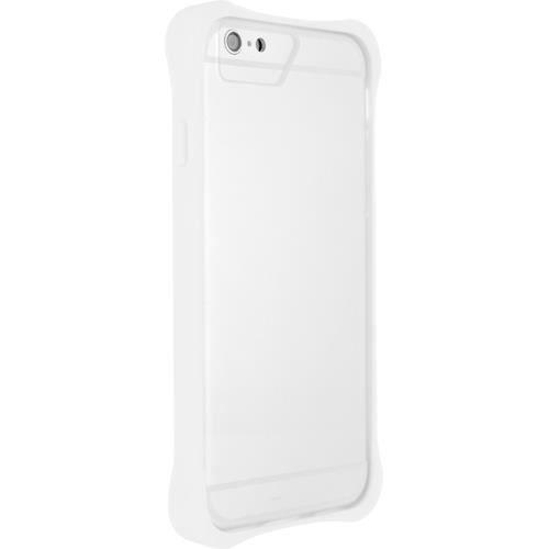 BBC Bumper avec plaque transparente Iphone 6 - Blanc