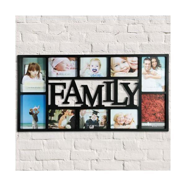 Cadre Pour 10 Photos De Famille Family Pele Mele Cadre Photos