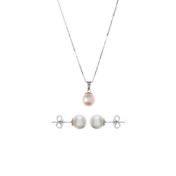 Parure Pendentif et Boucles dOreilles Perles d…