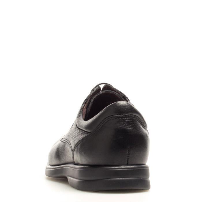 Fluchos - escarpins en cuir noir Sanotan -Antialergique