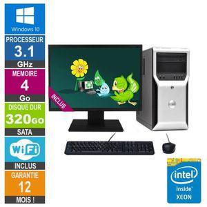 UNITÉ CENTRALE  PC Dell Precision T1600 Xeon E3-1225 3.10GHz 4Go/3