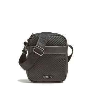 00868dd33f BESACE - SAC REPORTER Guess Sacoche Homme Global HM6672 Noir