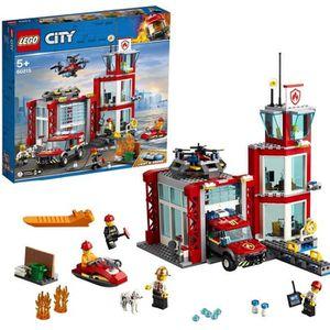 ASSEMBLAGE CONSTRUCTION LEGO® 60215 La caserne de pompiers