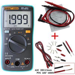 MULTIMÈTRE NEUFU 2000 Multimètre Numérique AC/DC Voltmètre Am