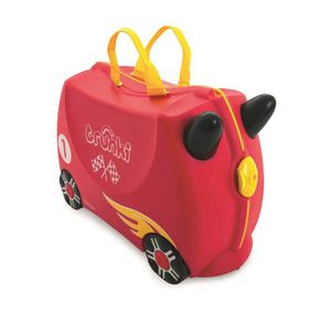 VALISE - BAGAGE TRUNKI Ride On Valise à Roulettes Enfant Rocco - 4 139387f1bc4