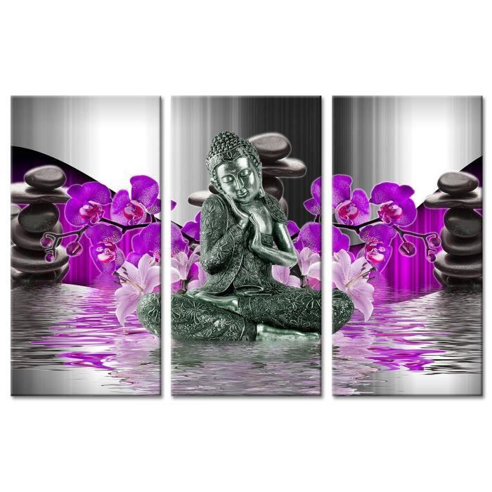 triptyque zen achat vente triptyque zen pas cher soldes d s le 10 janvier cdiscount. Black Bedroom Furniture Sets. Home Design Ideas
