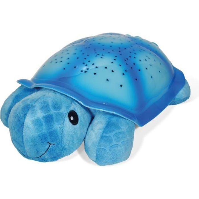CLOUD B Veilleuse Twilight Turtle® - Dès la naissance - Bébé mixte - Bleu