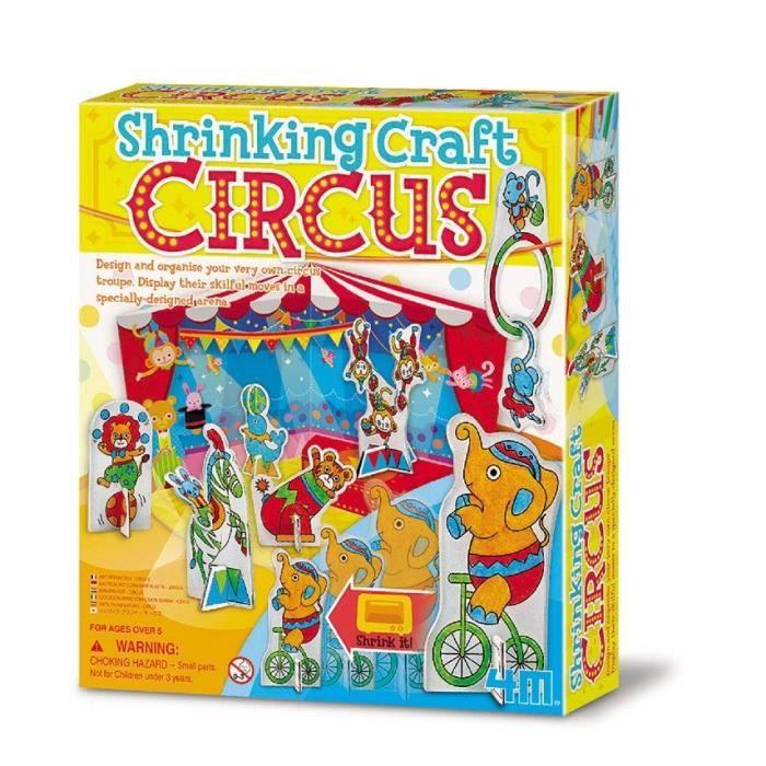 4M CREA Kit plastique - Fou cirque