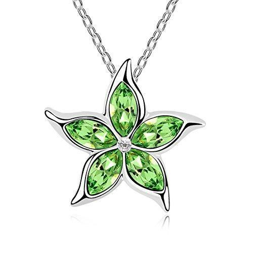 Les cristaux Swarovski femmes Collier pendentif à diamants. Tous les jours - Tenues de soirée Fashion bijoux. E9W1R