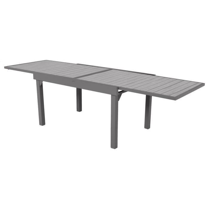 Table de jardin extensible 10 Personnes Piazza Lattes - L. 135-270 ...