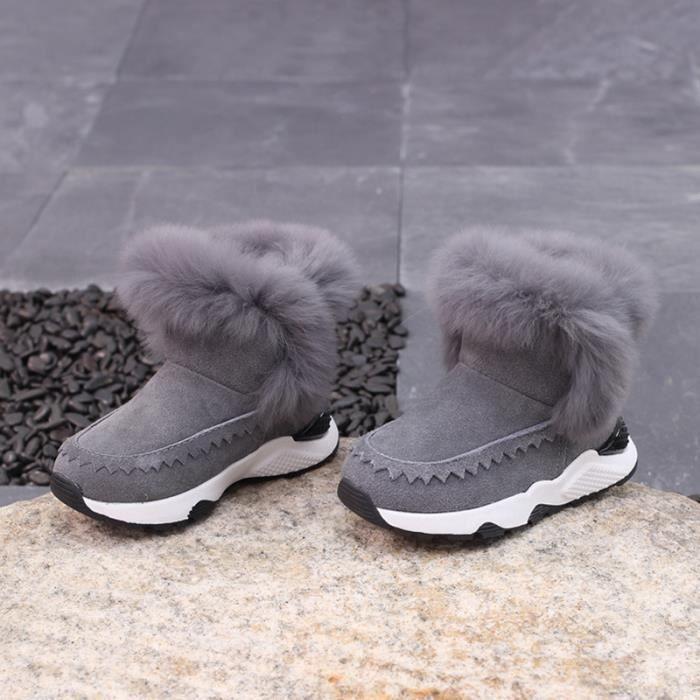 Enfants Chaussures Coton bottine Bébé filles Mode dZ8KUwn