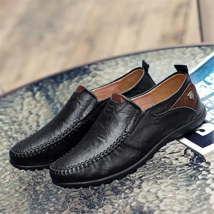 Derbies Homme De Marque De Luxe En Cuir Chaussure Durable Imperméable Nouvelle Mode zyCyAsi
