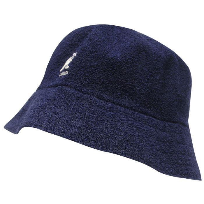 Kangol Boucle Chapeau De Seau Homme Bleu Bleu marine - Achat   Vente ... c55cc450e48