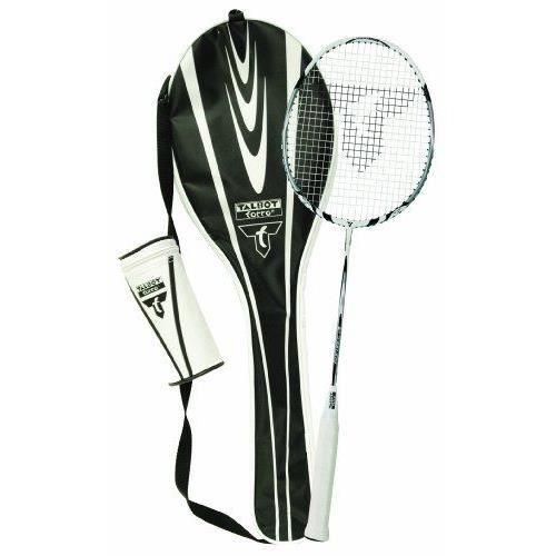 Talbot Torro Isoforce 211 Set  - Set de Badminton - 1 raquette, 3 volants Tech 350 - blanc / noir / jaune